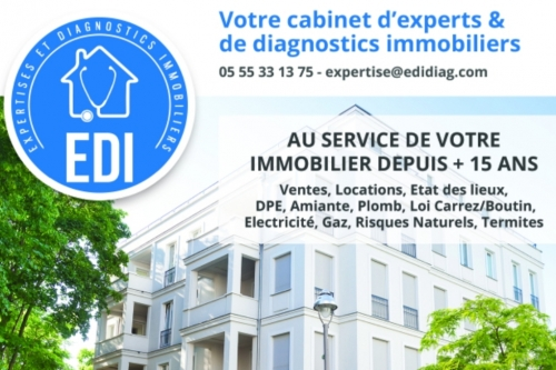 EDI -  DIAGNOSTIC IMMOBILIER